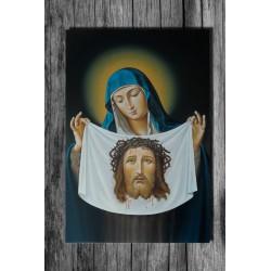 Świeta Weronika z chustą - obraz olejny
