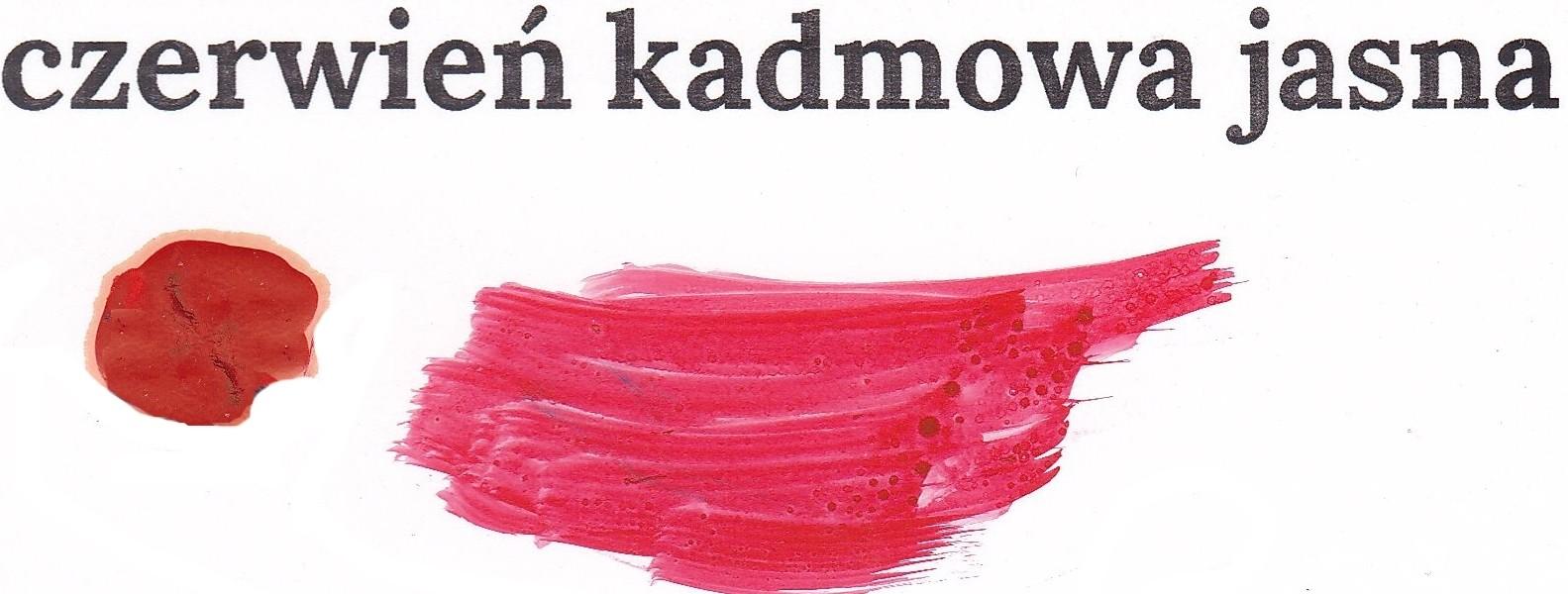 Czerwień kadmowa jasna
