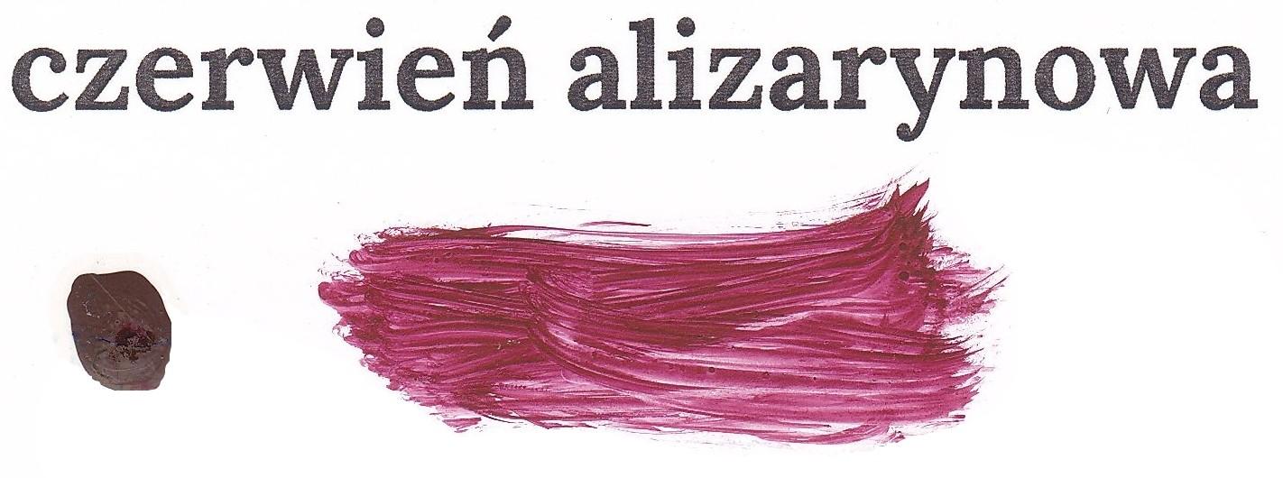 Czerwień alizarynowa