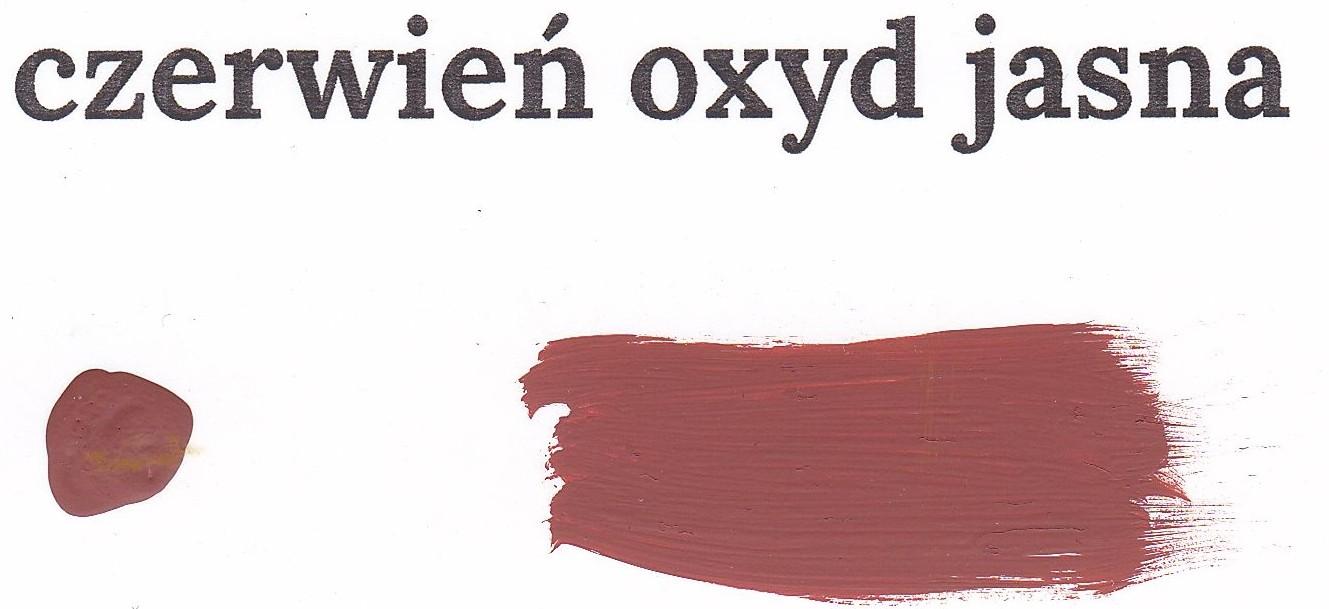 Czerwień oxyd jasna