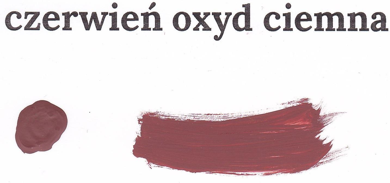 Czerwień oxyd ciemna