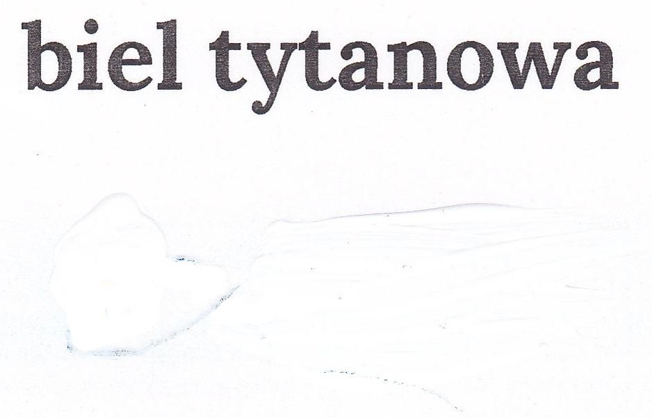 Biel tytanowa
