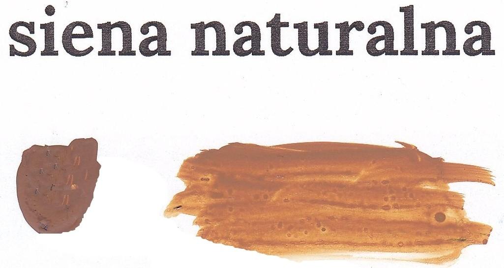 Siena naturalna