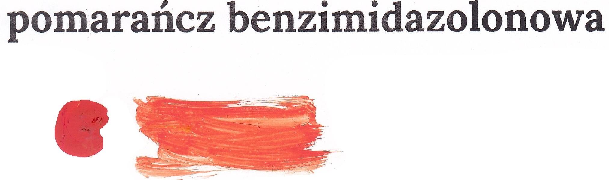 Pomarańcz benzimidalonowy