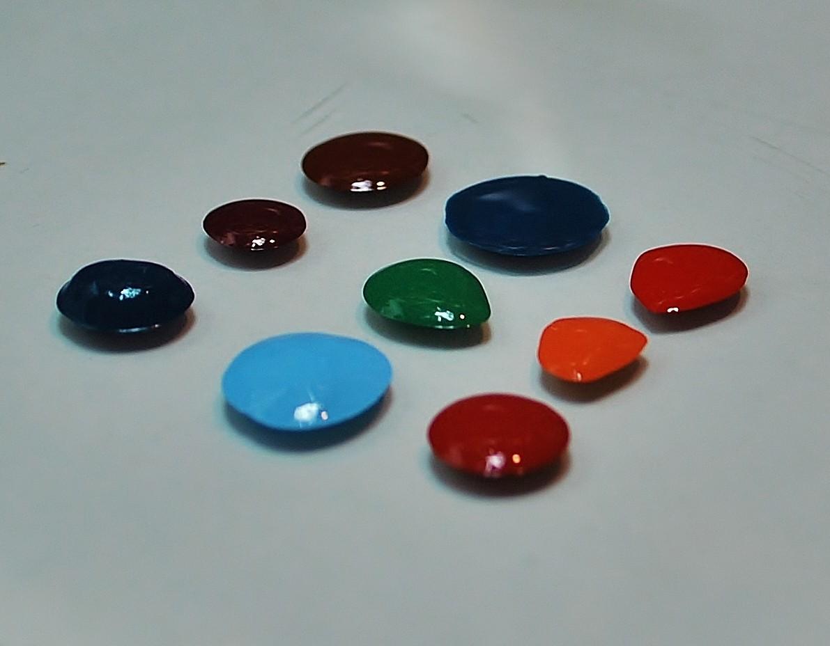 Zestaw 20 pigmentów w paście (Kurs Ikona Ecce Homo)